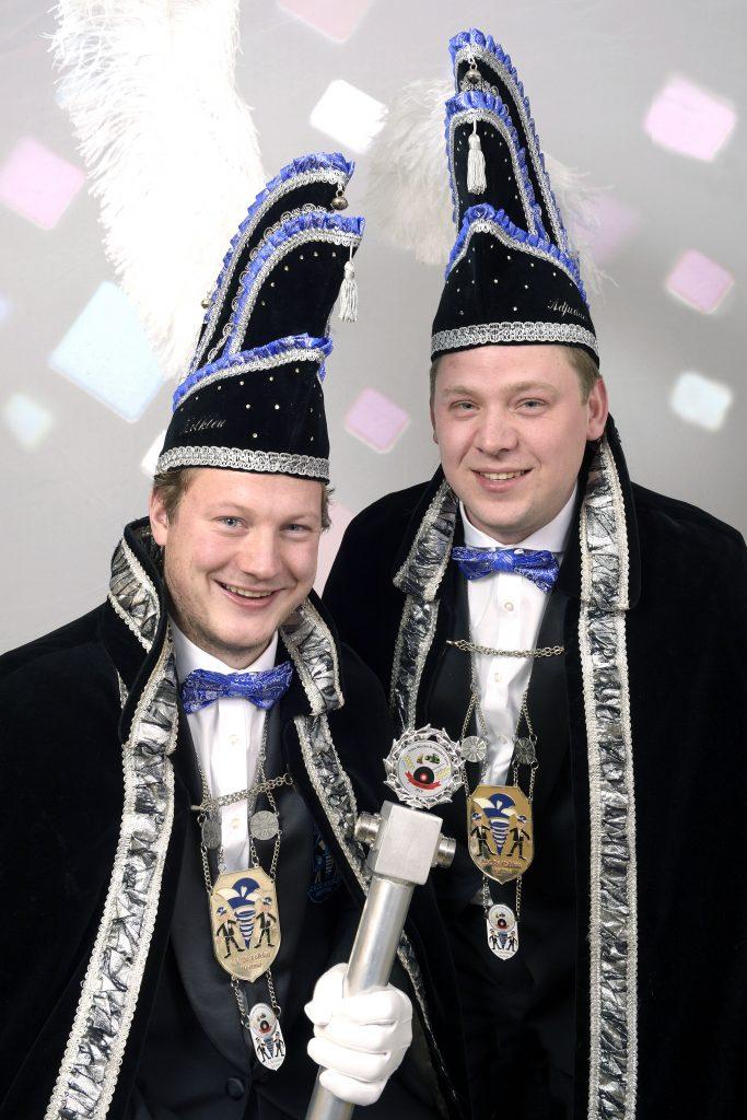 Nieuwe prinsenpaar